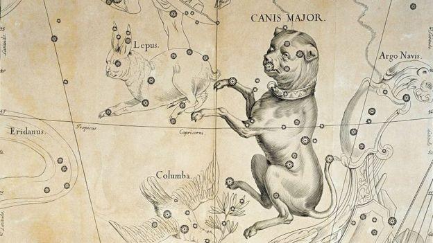 A canícula tem esse nome por causa da constelação Cão Maior (Foto: Getty Images via BBC)
