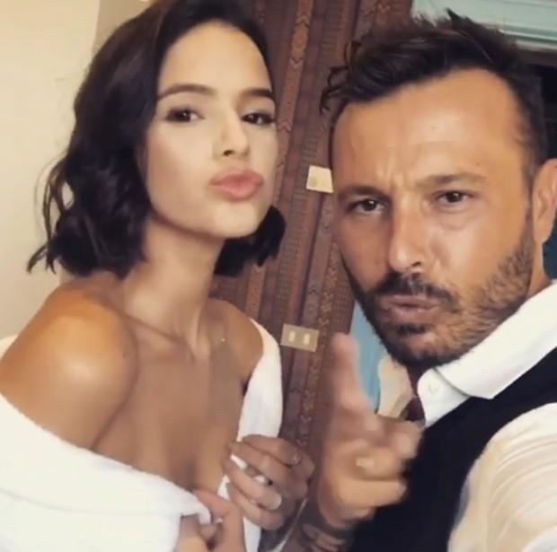 Bruna Marquezine e Adriano Maruzzelli (Foto: Reprodução/Instagram)