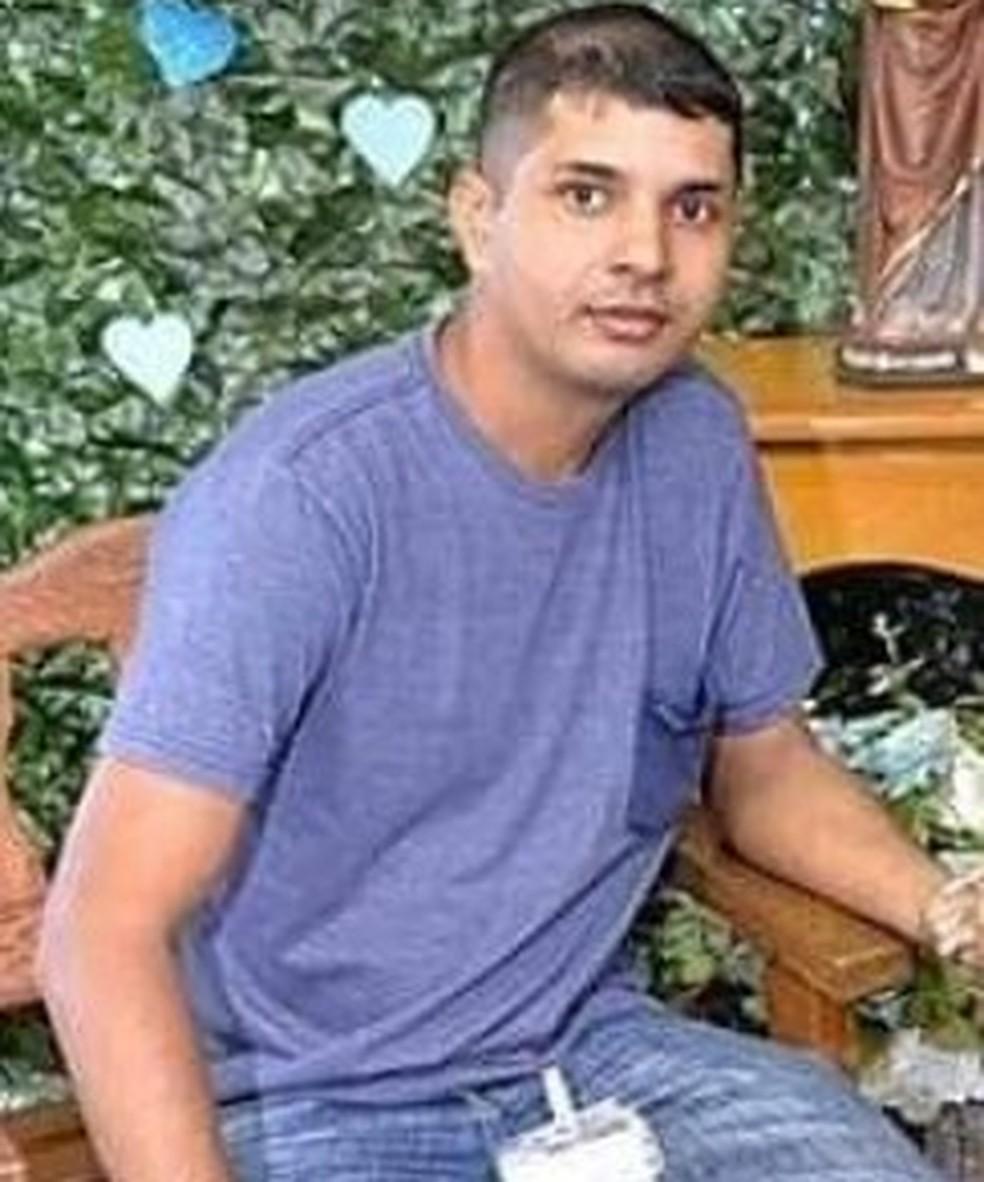 Bartogaleno Alexandre dos Santos, 33 anos  — Foto: Funerária Lucélia Lopes & Lopes