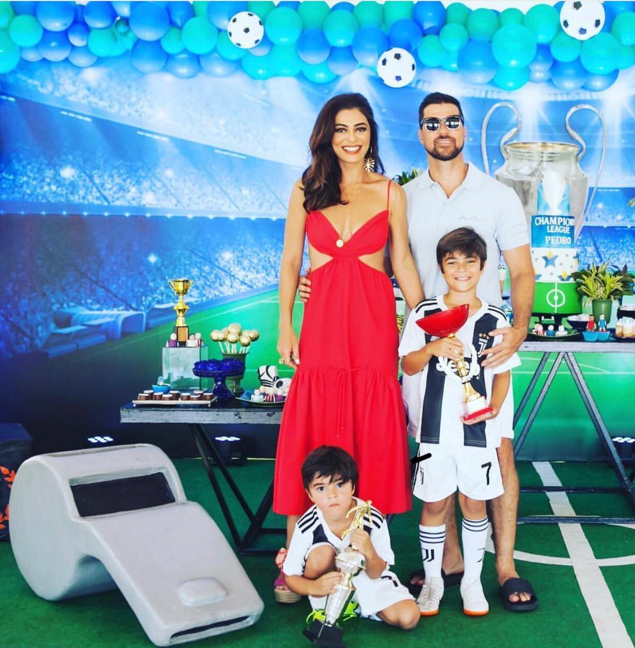 Juliana Paes no aniversário do filho (Foto: Reprodução Instagram)