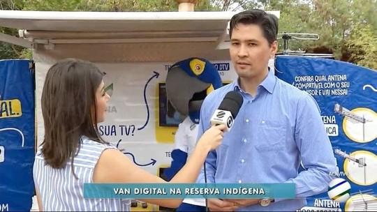 Reserva Indígena de Dourados recebe equipe do Seja Digital