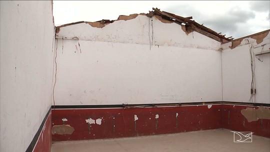 Obras de recuperação de escola municipal estão atrasadas em Codó