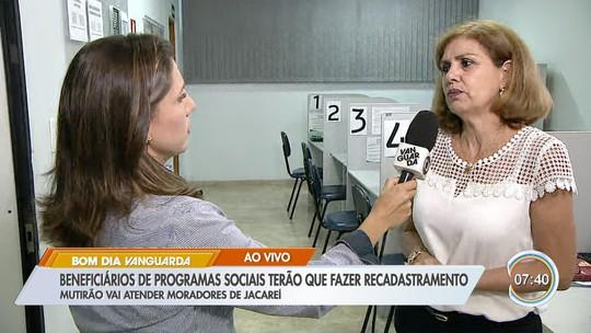 Jacareí tem recadastramento de inscritos em benefícios sociais