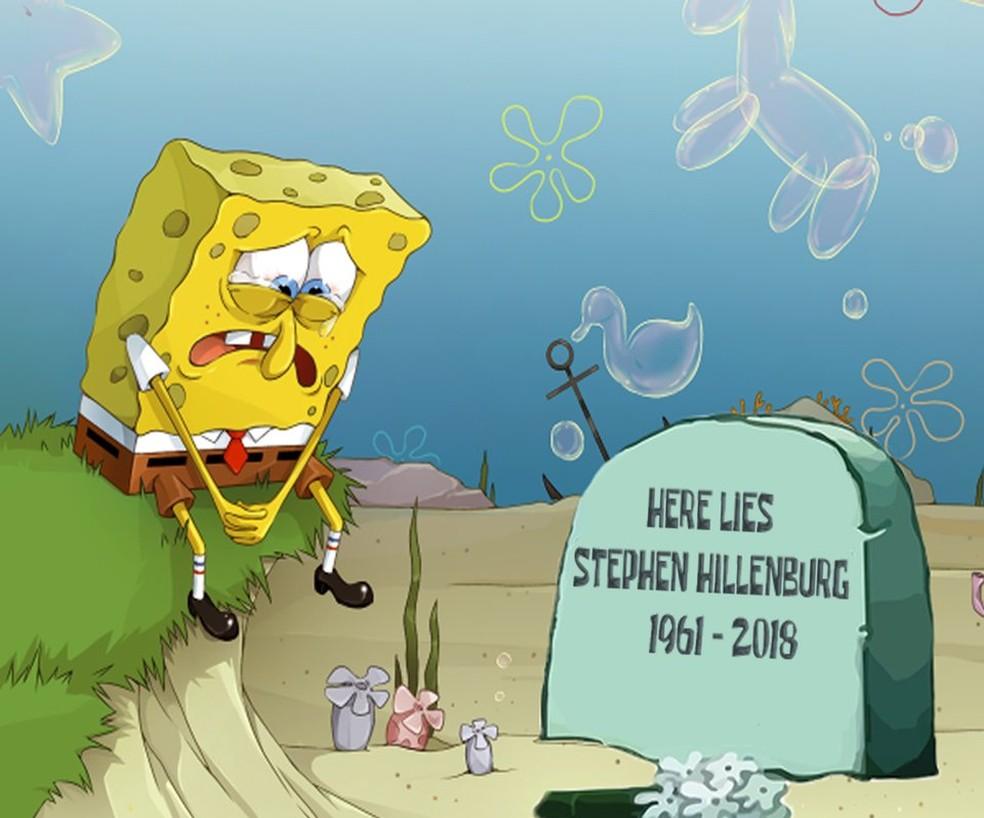 Fas De Bob Esponja Fazem Homenagens A Stephen Hillenburg Apos