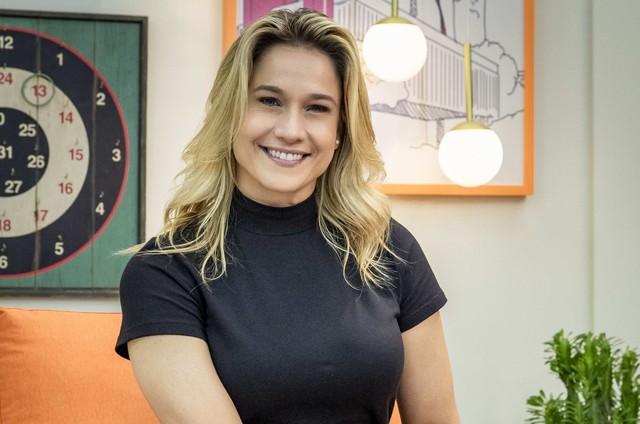 Fernanda Gentil irá para os domingos na Globo (Foto: Fabio Rocha/Divulgação)