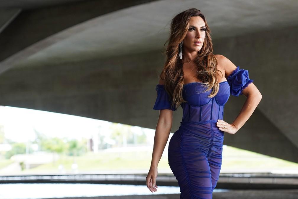 Nicole Bahls posa para ensaio exclusivo do G1 — Foto: Marcos Serra Lima/G1