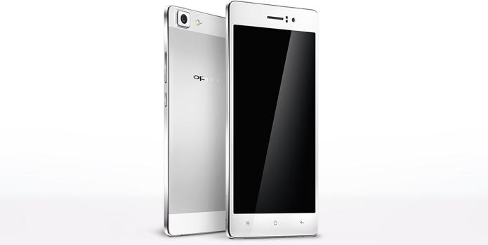 O Oppo R5 possui processador 64 bits e 4,85 mm de espessura (Foto: Divulgação/Oppo)