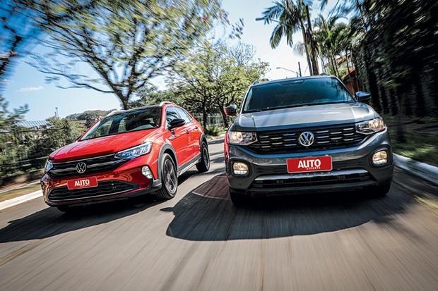 Comparativo Volkswagen Nivus e Volkswagen T-Cross (Foto: Rafael Munhoz)