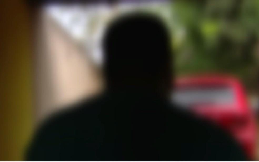 Homem que ficou por cerca de seis horas sendo ameaçado por assaltante — Foto: Reprodução/TV Anhanguera