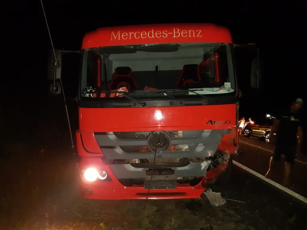 Vilson Licar dirigia na contramão quando colidiu com um caminhão na BR-315 — Foto: Divulgação/Polícia Rodoviária Federal