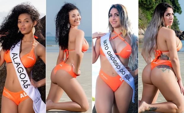 Miss-Bumbum-13--Rachel-Almeida-e-Nathalia-Tamara (Foto: Nelson Miranda / MBB6)