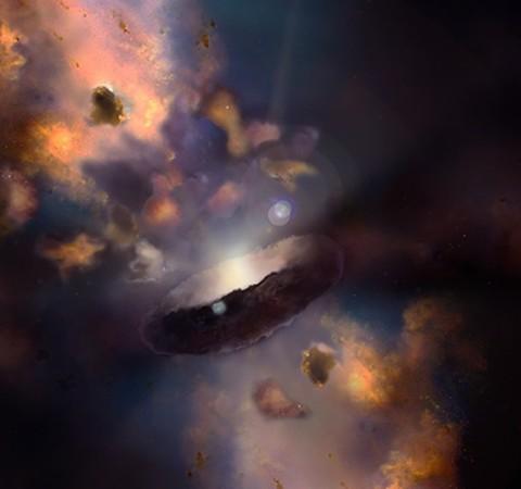 Maior buraco negro do Universo tem 34 bilhões de vezes a massa do Sol