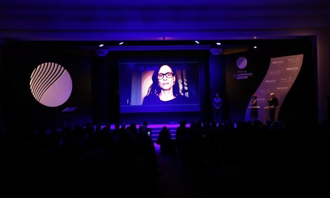 Sônia Braga enviou vídeo para a cerimônia