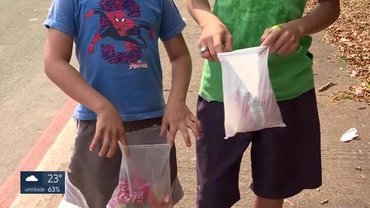 Crianças aproveitam dia de Cosme e Damião para conseguir doces