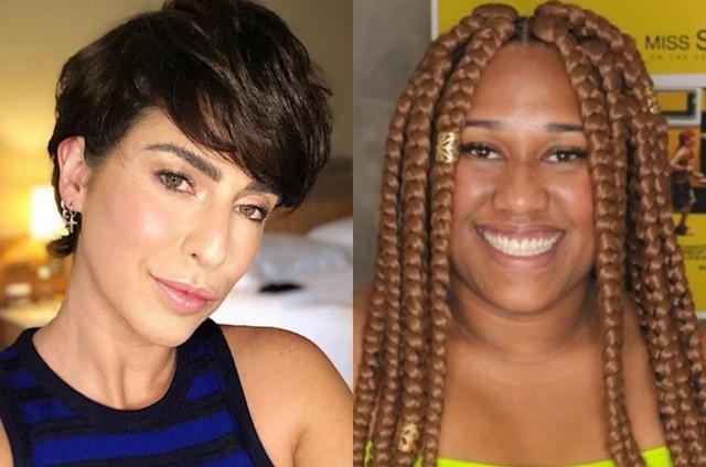 Fernanda Paes Leme e Luana Xavier (Foto: Reprodução)