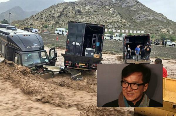 Imagem publicada por Jackie Chan em rede social chinesa (Foto: Reprodução )
