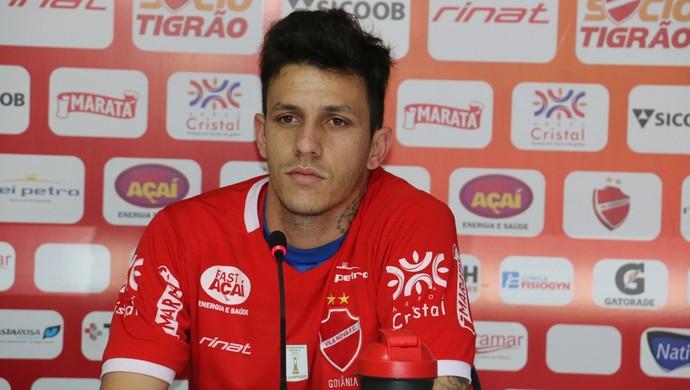 Jean Carlos é um dos principais nomes do clube nesta temporada ((Foto: Comunicação / Vila Nova)