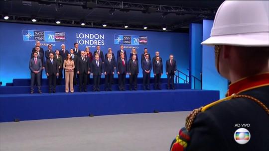 Otan faz reunião de cúpula em Londres em meio a disputas entre líderes