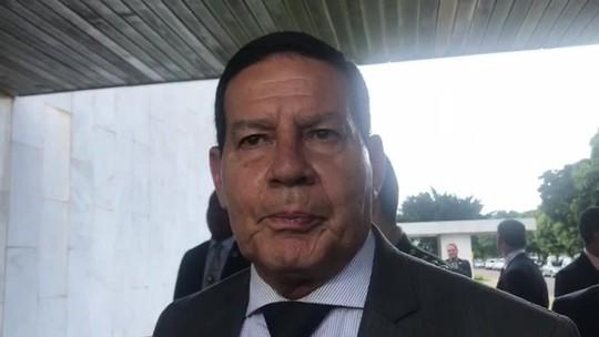 Proposta vai resolver rombo da Previdência dos militares, diz Mourão