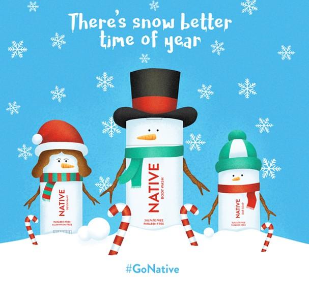 Marca lança desodorante especial para o Natal (Foto: Reprodução/Instagram)