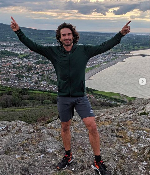 O apresentador de TV Joe Wicks (Foto: Instagram)