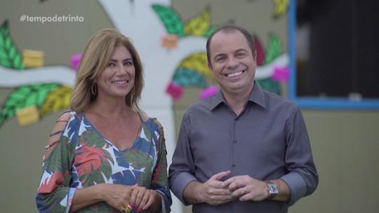 Reveja vídeos do último episódio de Tempo de Trinta