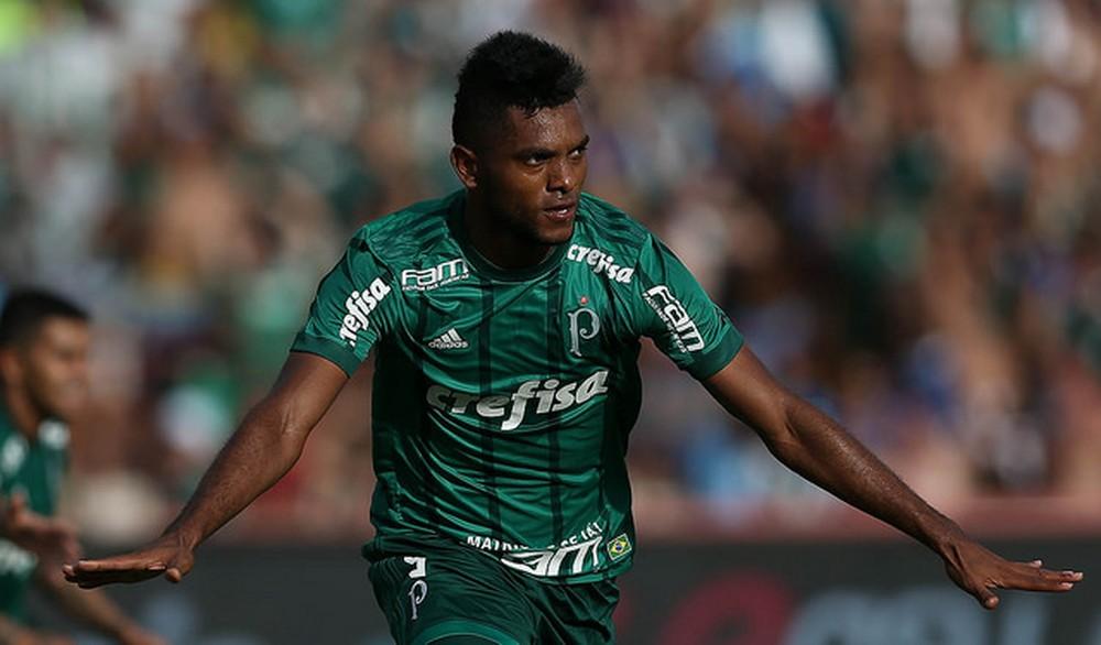d6c915a568 Borja faz o primeiro gol dele na temporada (Foto  Cesar Greco Ag. Palmeiras)