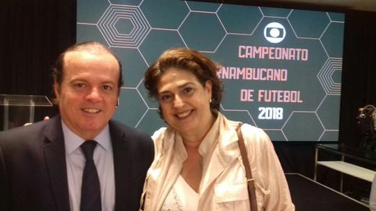 TV Grande Rio é representada na festa de lançamento do Campeonato Pernambucano 2018