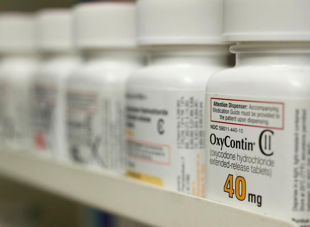 oxycontin oxicodona Medicamentos opioides são os principais responsáveis pelas mortes por overdose, diz ONU