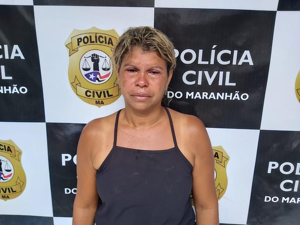 Josilene do Socorro Brandão Silva foi presa no Maranhão por suspeita de sequestrar criança de um ano no Pará. — Foto: Divulgação/Polícia Civil