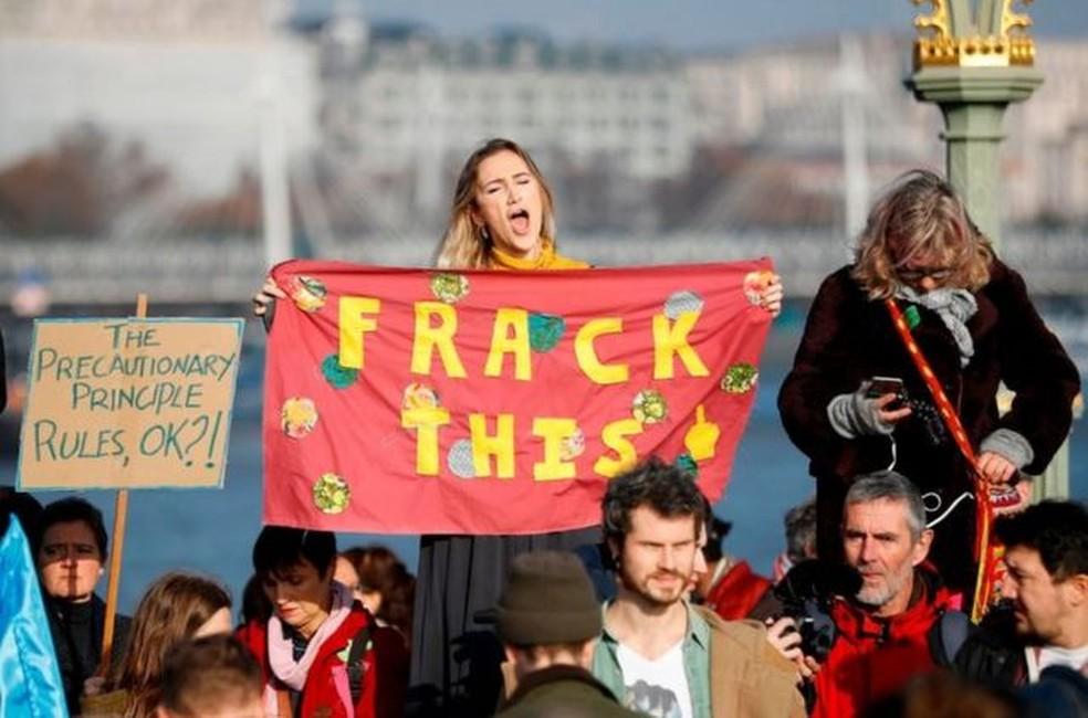 Katie Hodjetts se interessou pelo ativismo climático quando estava na universidade — Foto: HANDOUT