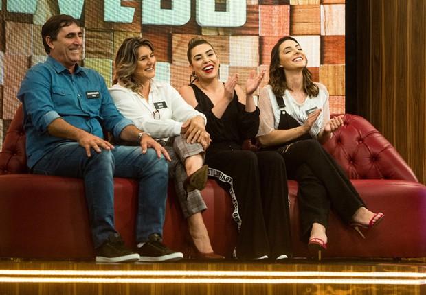 Naiara Azevedo reúne familiares para participar do programa Tamanho Família (Foto: Raquel Cunha/TV Globo)
