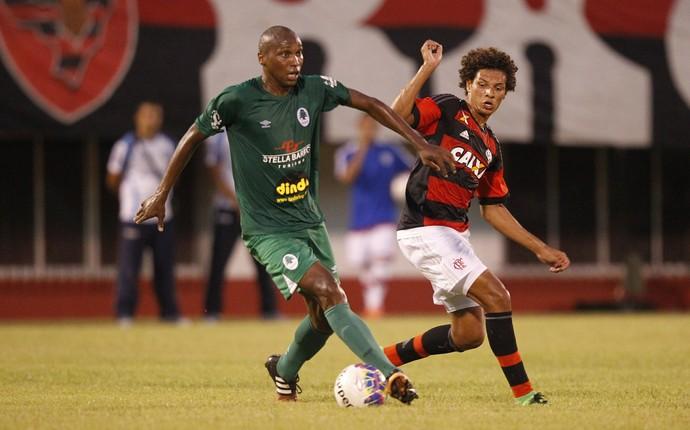 Anderson Luiz e Arão, flamengo x boavista (Foto: Gilvan de Souza / Flamengo)