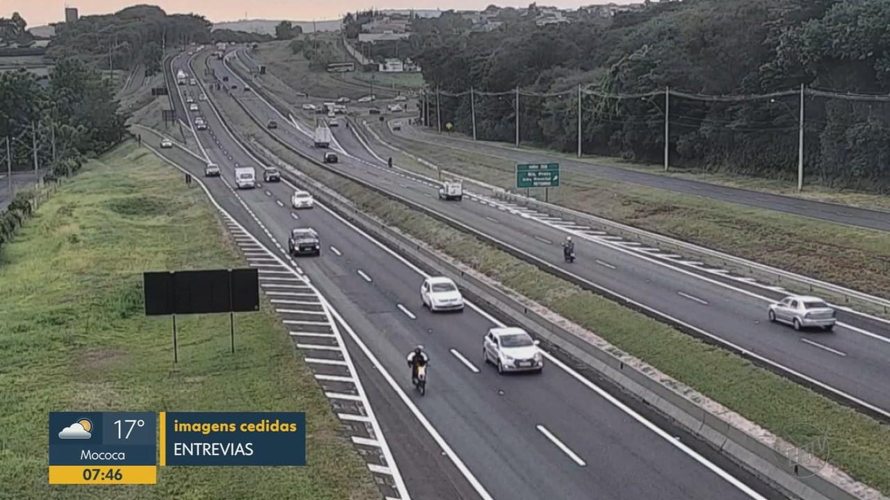 Confira o trânsito nas rodovias de Ribeirão Preto, SP