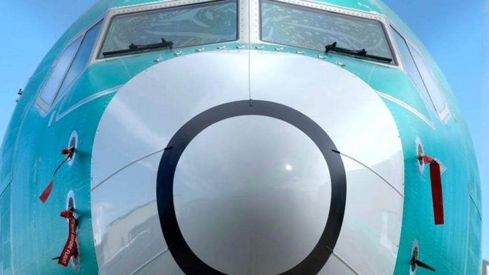 A Boeing deixará de fabricar em janeiro o modelo 737 Max — Foto: Getty Images