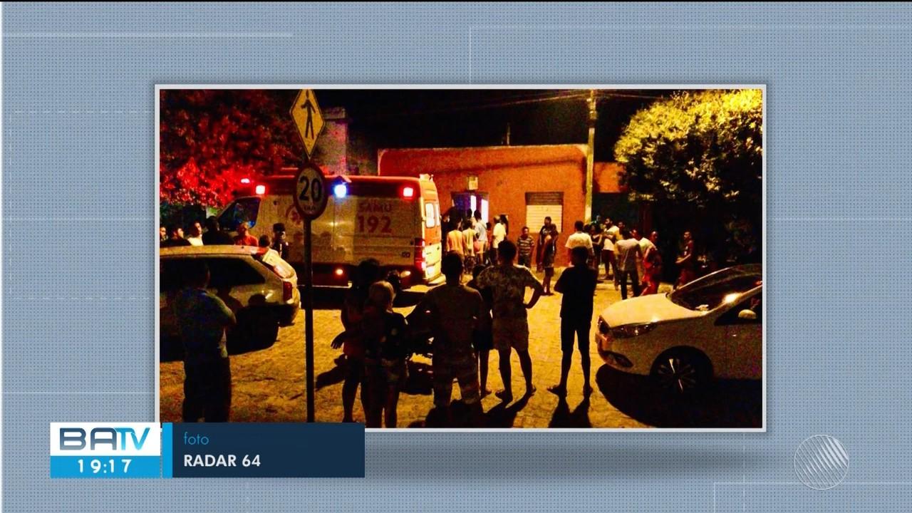 Dono de pousada é morto a tiros na frente da esposa e da filha em cidade na Bahia