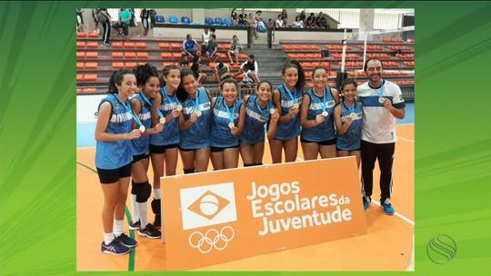SE alcança 3 pódios na fase regional dos Jogos da Juventude