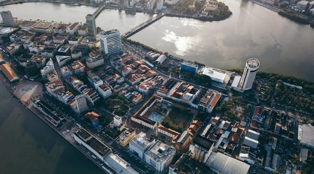 O Porto Digital recuperou mais de 90 mil m² de Recife, em Pernambuco (Foto: Divulgação)