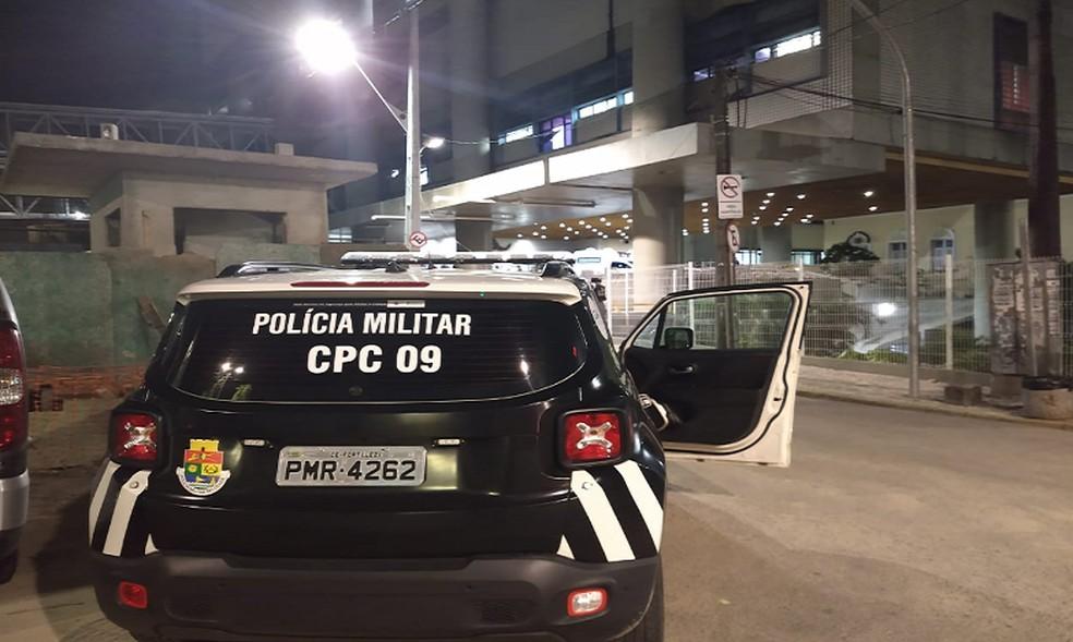 Casal foi abordado por dois bandidos próximo a cidade de Cascavel. — Foto: Leábem Monteiro/TV Diário