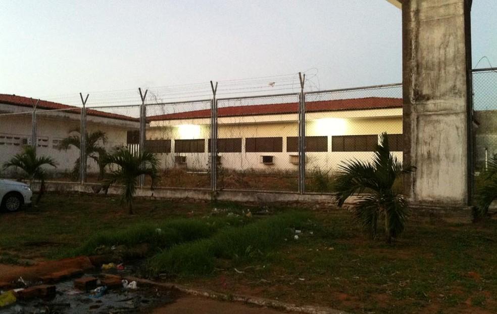Complexo Penal João Chaves, na Zona Norte de Natal — Foto: Caroline Holder/G1
