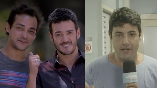 Marcos Veras e Bruno De Luca fazem participações especiais no 'Tá No Ar: a TV na TV'