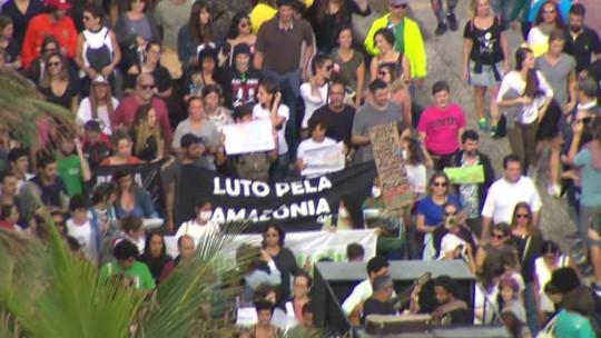 Rio e BH têm manifestações em defesa da Amazônia