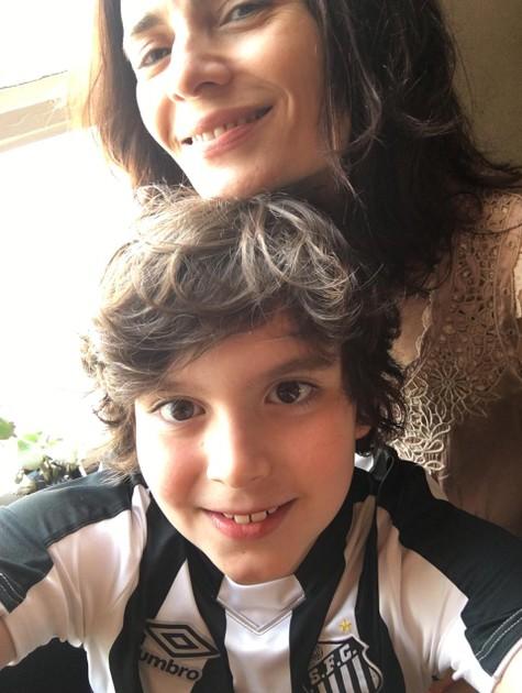 Arieta Corrêa e o filho, Gael (Foto: Arquivo pessoal)