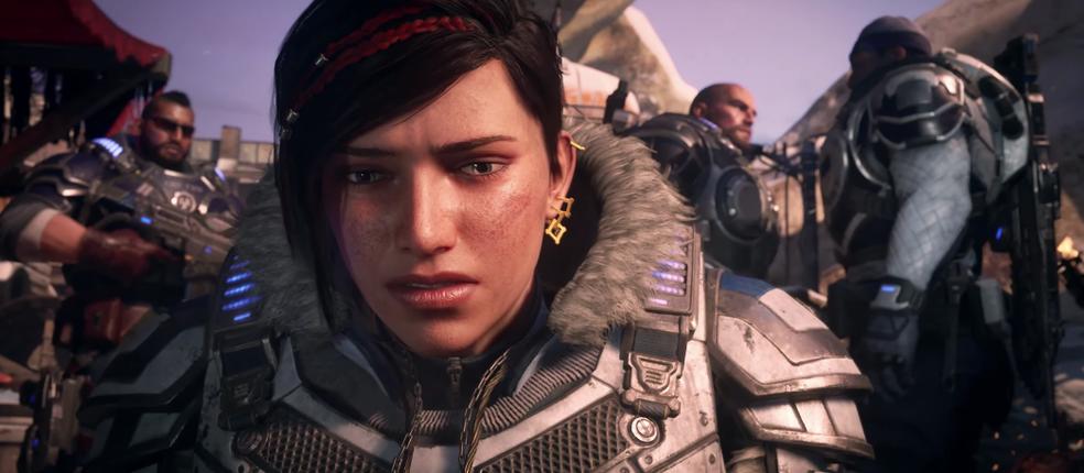 Gears of War foi uma das grandes estrelas da Microsoft na E3 2018 (Foto: Reprodução/YouTube)