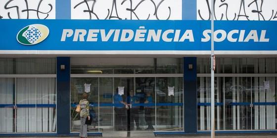 Agência da Previdência Social em Brasília (Foto: Marcelo Camargo/Agência Brasil)