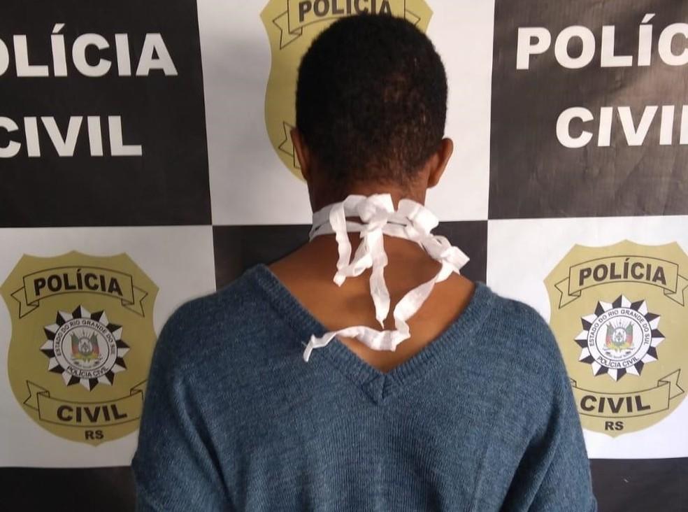 Preso suspeito de roubar van e matar mulher atropelada em Rio Grande