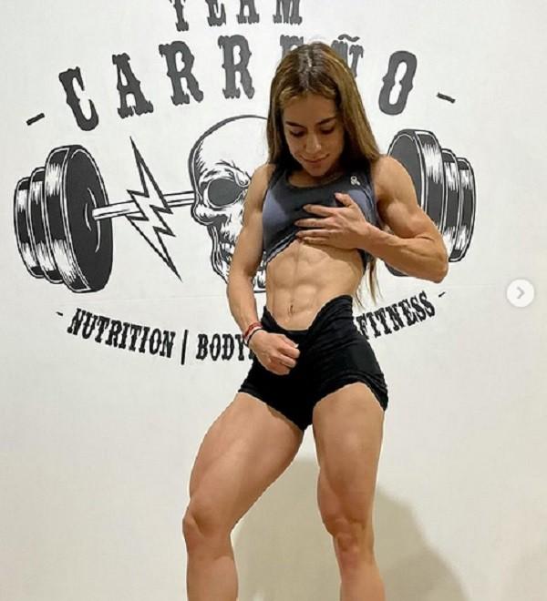 A influencer fitness mexicana Odalis Santos Mena (Foto: Instagram)