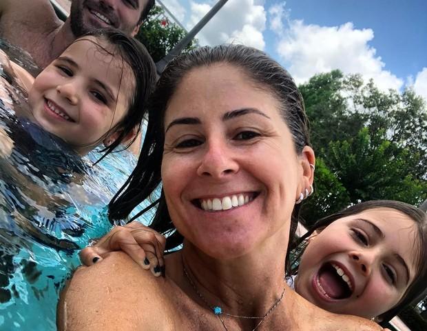 Patricia Maldonado com a família (Foto: Reprodução Instagram)