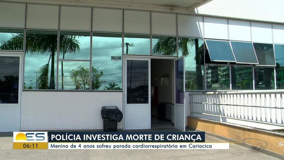 Morte de criança que chegou com parada cardiorrespiratória em PA de Cariacica, ES, é investigada - G1