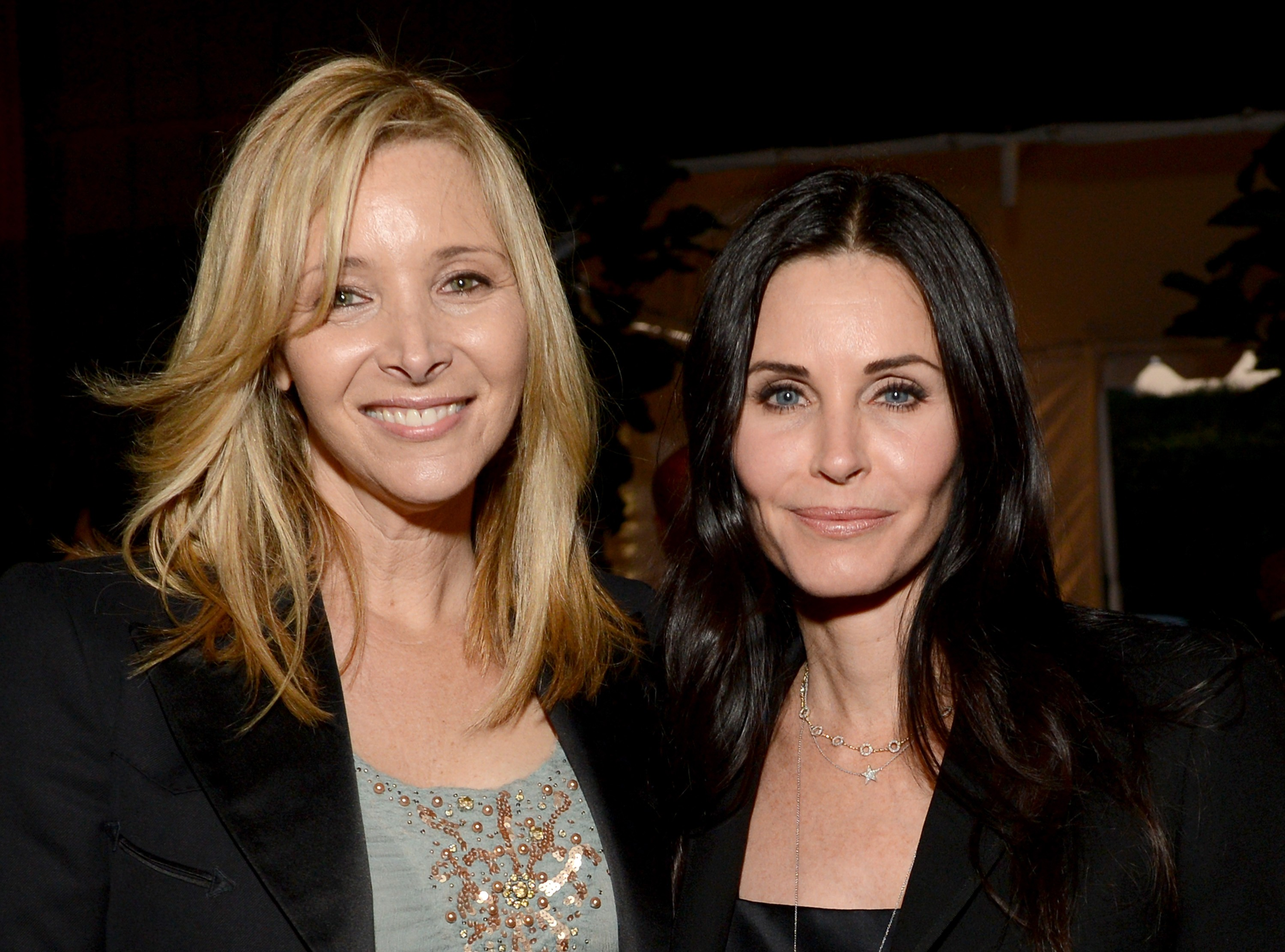 As atrizes Courtney Cox e Lisa Kudrow (Foto: Getty Images)